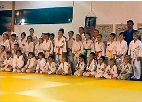 Le judo club Lansargues en pleine forme