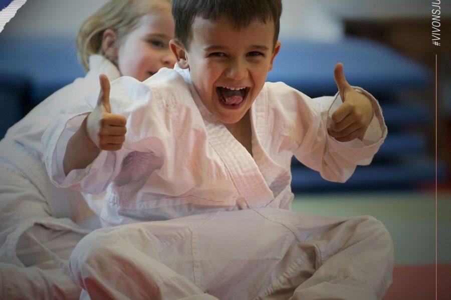 Le judo continue !!